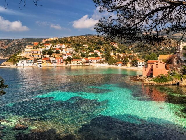 Assos, is one of the most beautiful and picturesque villages of the island